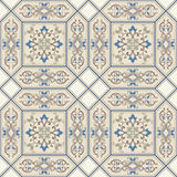 Seamless pattern with Victorian motives. Stock Photos