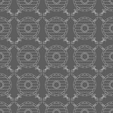 Seamless pattern with viking shields and swords Royalty Free Stock Photography