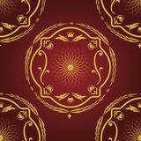Seamless pattern vintage background. Royalty Free Stock Images