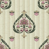 Seamless pattern vintage Stock Photos