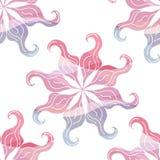 Seamless pattern vintage curls  circular Stock Images