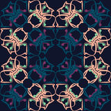 Seamless pattern. Vintage decorative elements. Royalty Free Stock Photos