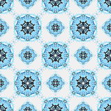 Seamless pattern. Vintage decorative elements. beautiful background Stock Images