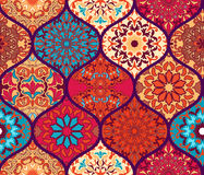 Seamless pattern. Vintage decorative elements. Stock Photo