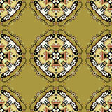 Seamless pattern. Vintage decorative elements. Hand drawn background. (vector eps 10 Royalty Free Stock Photography