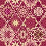 Seamless pattern, vintage decorative elements. Royalty Free Stock Image