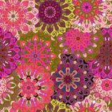 Seamless pattern. Vintage decorative elements. Royalty Free Stock Photography