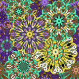 Seamless pattern. Vintage decorative elements. Stock Image