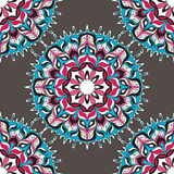 Seamless pattern. Vintage decorative elements. Stock Images