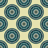 Seamless pattern. Vintage decorative elements vector illustration Royalty Free Stock Photo