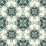 Seamless pattern. Vintage decorative elements vector illustration Stock Image