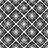 Seamless pattern. Vintage decorative tile with ethnic Arabic, Indian, Islamic, ottoman motifs. Vector illustration,. Can be used for print design, fabric stock illustration