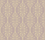 Seamless Pattern. Vintage seamless pattern design.  Pattern swatch is included in swatches window Stock Image