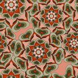 Seamless pattern. Vintage elements vector illustration Royalty Free Stock Images