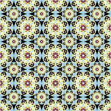 Seamless pattern vintage ethnic ornament vector illustration Royalty Free Stock Photos