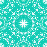 Seamless pattern vintage ethnic ornament vector illustration Stock Image
