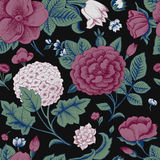 Seamless pattern with vintage flowers.