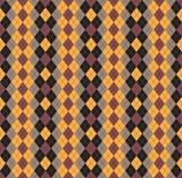 Seamless pattern Of Vintage Happy Halloween Tartan Texture. Hall Royalty Free Stock Photography