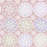 Seamless pattern Vintage lace design. Pastel purple violet colo Stock Photo