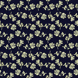 Seamless pattern with vintage roses. Stock Image