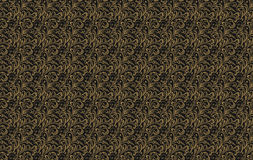Seamless pattern. Vintage style background with floral ornaments Royalty Free Stock Image