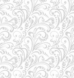 Seamless pattern. Vintage style background with floral ornaments. Royalty Free Stock Photo