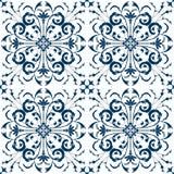 Seamless Pattern Vintage Victorian Tile Royalty Free Stock Image