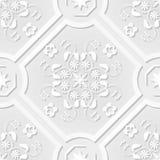Seamless Pattern Vintage Victorian Tile Royalty Free Stock Photo
