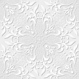Seamless Pattern Vintage Victorian Tile Royalty Free Stock Photos