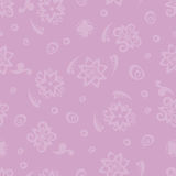 Seamless pattern violet background. Purple card. Seamless pattern background of purple flowers. Royalty Free Stock Images