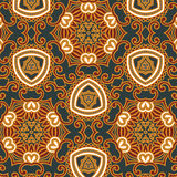 Seamless pattern wallpaper Royalty Free Stock Photography