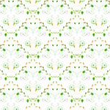 Seamless pattern wallpaper Royalty Free Stock Images