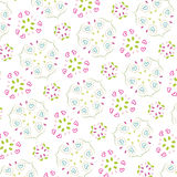 Seamless pattern wallpaper Stock Photo