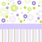 Seamless pattern, wallpaper Stock Image