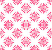 Seamless pattern, wallpaper with flower motifs. Simple monochrome repeatable background. Flourish, blossoms pattern. Royalty free vector illustration stock illustration