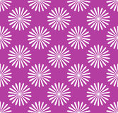 Seamless pattern, wallpaper with flower motifs. Simple monochrom Stock Images