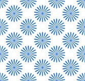 Seamless pattern, wallpaper with flower motifs. Simple monochrom Stock Photography