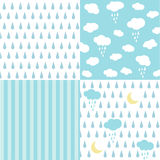 Seamless pattern, wallpaper Royalty Free Stock Images