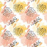 Seamless pattern wallpaper. Stock Photo