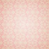 Seamless pattern wallpaper in Victorian style. Royalty Free Stock Photography
