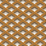 Seamless pattern with warm colors. Stock Photography