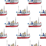 Seamless pattern water  Stock Images