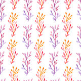 Seamless pattern watercolor Royalty Free Stock Photography