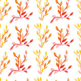 Seamless pattern watercolor Stock Images