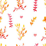 Seamless pattern watercolor Royalty Free Stock Photos