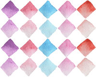Seamless pattern / watercolor / handmade Stock Image