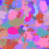 Seamless pattern with watercolor Royalty Free Stock Photo