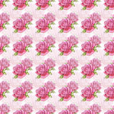 Seamless pattern with watercolor roses Stock Images