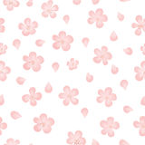Seamless pattern  Watercolor Vector Flowers. Vector Watercolour Flowers. Royalty Free Stock Photos