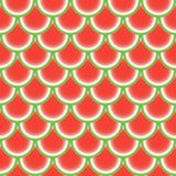 Seamless pattern with watermelon. Abstract background. Vector illustration. Pattern for the wrapping, home decor, website, brochures and presentations in a Royalty Free Stock Images